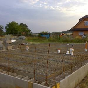 staveniště základy