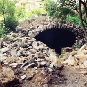 stavba kamenného sklepa